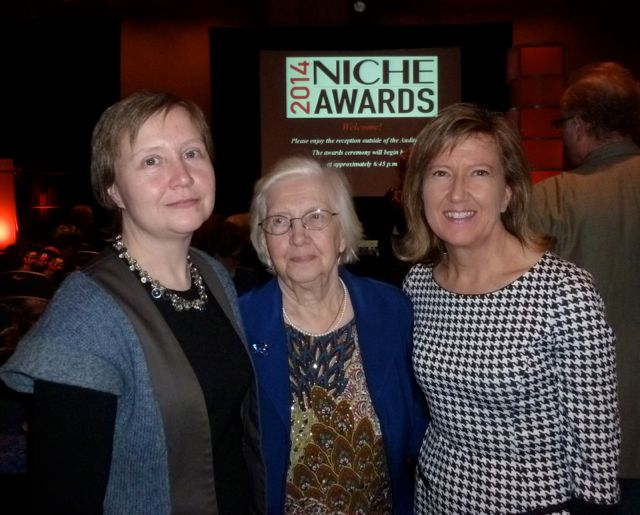At the NICHE Awards 2014