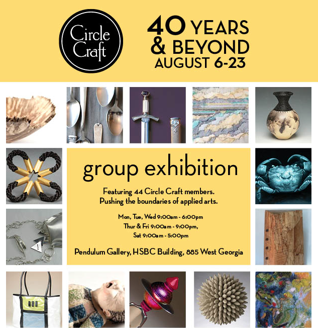 Circle Craft 40th Anniversary Exhibition