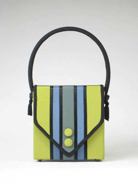 Lime KOTI square purse