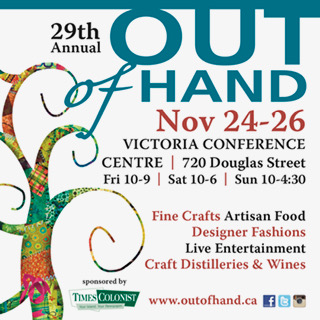 Kaarina's at the Out of Hand Artisan Fair again this year